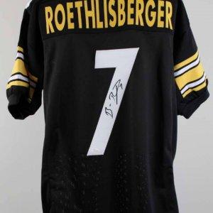 Ben Roethlisberger Signed Pittsburgh Steelers Jersey - COA JSA