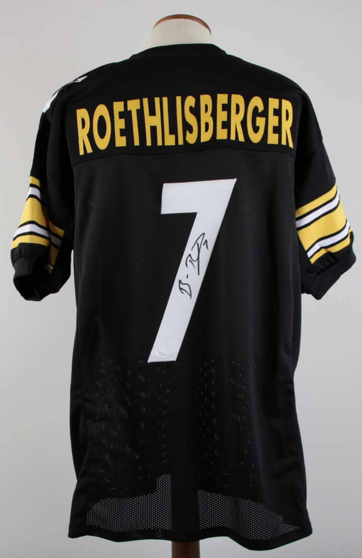 watch f018e f744f Ben Roethlisberger Signed Pittsburgh Steelers Jersey - COA JSA