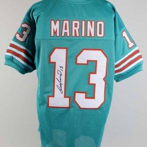 Dan Marino Signed Miami Dolphins Jersey - COA JSA