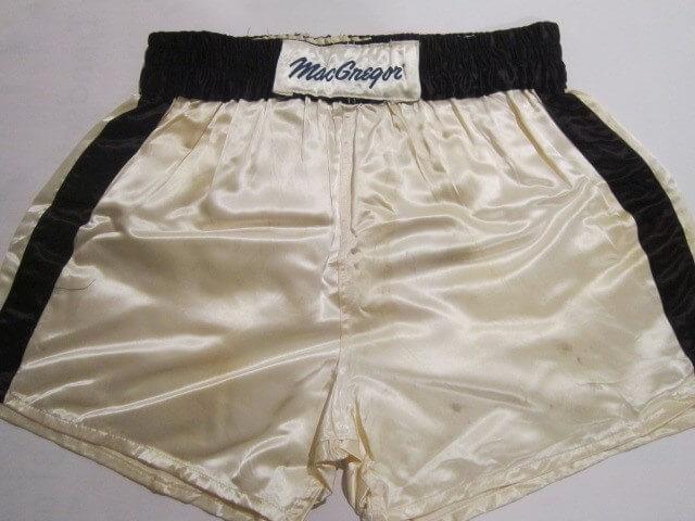 1981 Muhammad Ali Training Worn Boxing Trunks - vs. Trevor Berbick Bout - 100% Team LOA Graded 17/20