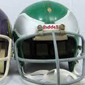 Helmets, Footballs, Gear