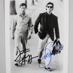 Dustin Hoffman & Tom Cruise Signed Rain Man Photo