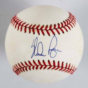 Nolan Ryan Signed OAL Rangers Baseball - COA