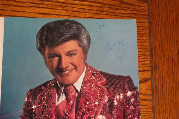 Liberace Signed Program from 1980