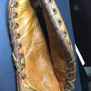Shoeless JOE JACKSON RARE NOKONA BM71 CLAW VINTAGE FIRST BASE MITT