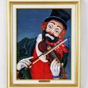 "Red Skelton Signed ""Maestro"" 14x18 Canvas Art"