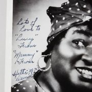 Hattie McDaniel Signed 8x10 Photo Gone with the Wind JSA Full Letter