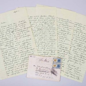 Janis Joplin Signed Letter 8 Handwritten Pages JSA Full LOA