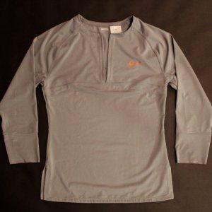 A Maria Sharapova Game-Used Custom Nike Tennis Shirt.  2009 WTA Season.