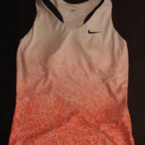 A Sara Errani Game-Used Custom Nike Tennis Top.  2015 WTA Season.