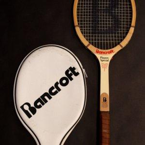 A Martina Navratilova Game-Used Custom Bancroft Tennis Racquet.  1978 Wimbledon Championships (Women's Singles Champion).
