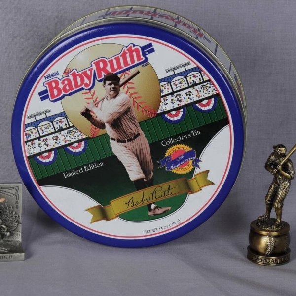 Nestle Yankee Baby Ruth Tin Filled With pins