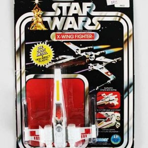 X-Wing Fighter 1977 Takara Star Wars Die Cast 12 Back Vintage Kenner