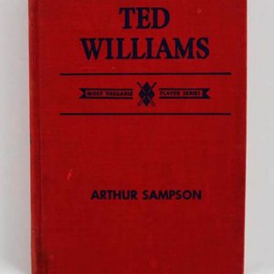 Ted Williams & Arthur Sampson Signed Book - COA JSA