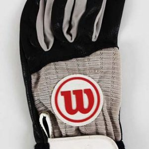 "Mid 1990's Tim ""Rock"" Raines Game-Worn Batting Glove White Sox HOFer"