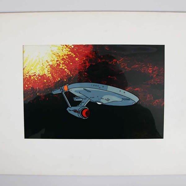 1976 Star Trek Animation Cel Filmation Norway Prods Inc. 98/700