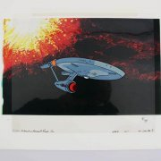 1976 Star Trek Animation Cel Filmation Norway Prods Inc. 98/700