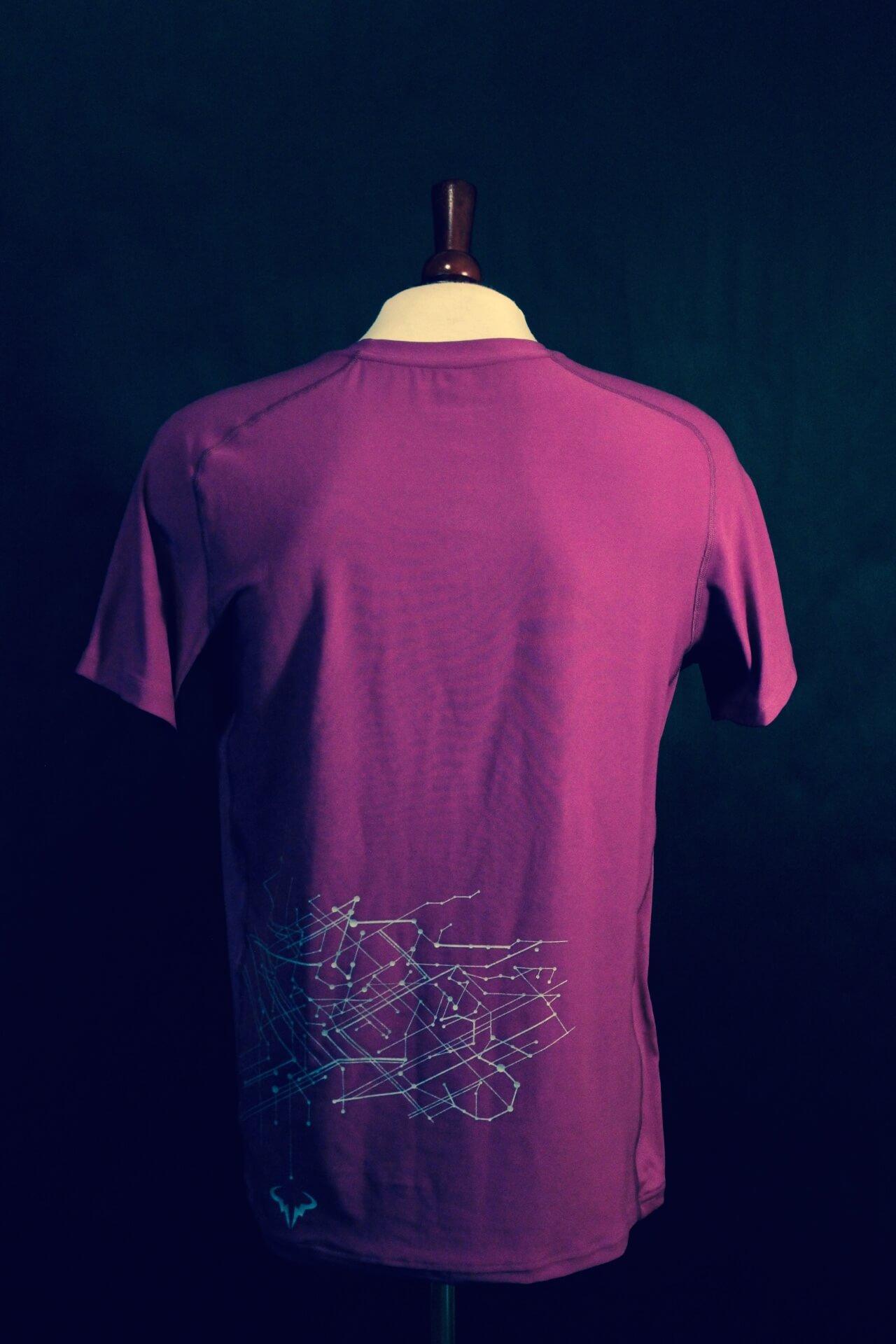 size 40 580ae a2153 A Rafael Nadal Game-Used Custom Nike Tennis Shirt. 2011 ATP Shanghai Rolex  Masters.   Memorabilia Expert