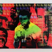 Muhammad Ali Signed 31x45 Steve Kaufman Art AP 23/25 - JSA