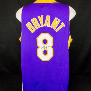 Kobe Bryant Full Name Signed Los Angeles Lakers Authentic Nike Jersey PSA/DNA