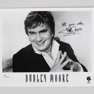 Dudley Moore Signed 8x10 Photo - COA JSA