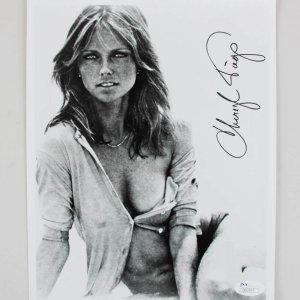 Cheryl Tiegs Signed 8x10 Photo - COA JSA