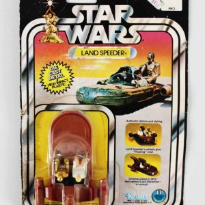 1978 STAR WARS Kenner Land Speeder Action Figure Vintage Un Opened