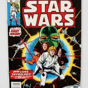 STAR WARS #1 (Marvel Comics 1977) 1st PRINT Original Plastic