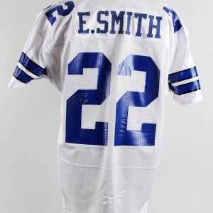 Emmitt Smith Signed Dallas Cowboys Jersey - JSA