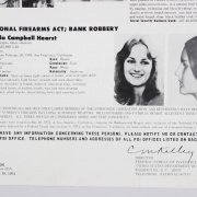 1979 Patricia Hearst Signed Typed Letter Written From Prison - COA JSA