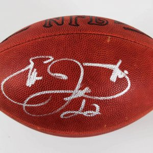 Emmitt Smith Signed Dallas Cowboys Football - COA JSA