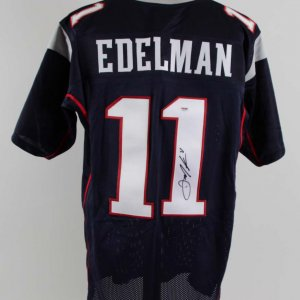 Julian Edelman Signed New England Patriots Jersey - COA PSA/DNA