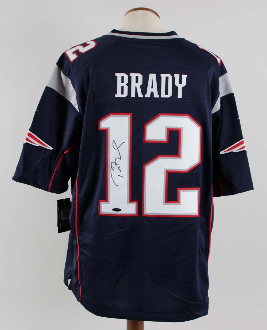 fb40f62a9c4 Tom Brady Signed Jersey Patriots – COA TriStar | Memorabilia Expert