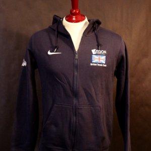 An Andy Murray Game-Used Custom Team GB Davis Cup Sweatshirt/Jacket.  2015 Davis Cup (Champions).