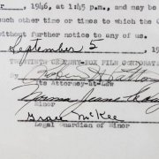 Marilyn Monroe Signed Movie Contract (Norma Jeane Dougherty) 1946 20th Century Fox (Approval) - JSA Full LOA