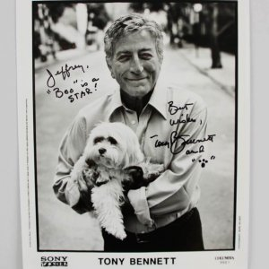 Tony Bennett Signed & Inscribed 8x10 Photo - JSA