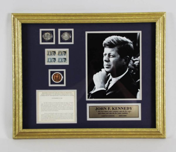 JOHN F KENNEDY Framed COLLECTION