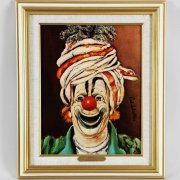 "Red Skelton Signed ""Swami"" 11x14 Lithograph"