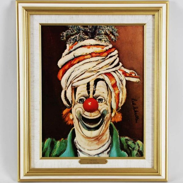 """Red Skelton Signed """"Swami"""" 11x14 Lithograph"""