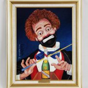"""Red Skelton Signed """"Conducting Beethoven's Fifth"""" 14x18 Lithograph"""