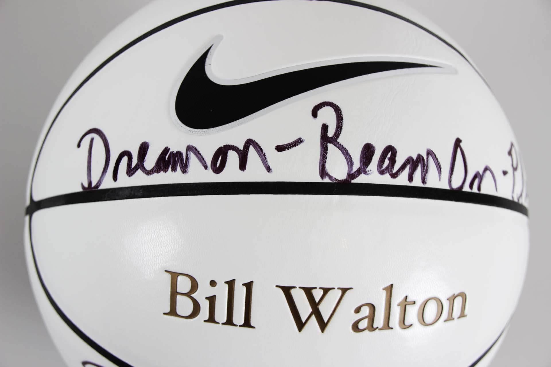 8260f0c5c Bill Walton Signed Basketball UCLA NBA – JSA