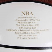 Bill Walton Signed UCLA NBA Basketball W/ Inscriptions - JSA