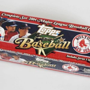 2004 Topps Boston Red Sox Baseball Cards Complete Set