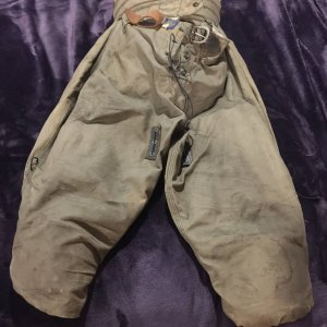 Vintage Antique Goldsmith Game Worn Football Pants 1920 w/ Waist Thigh Knee Pads