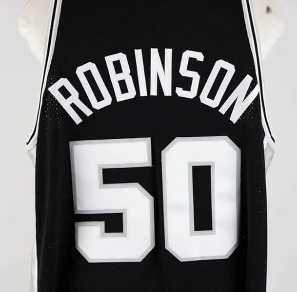 1998-99 David Robinson Game-Worn San Antonio Spurs Jersey ... fa5cd8d38