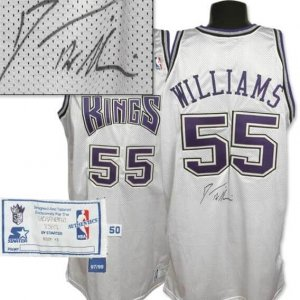 1998 Jason Williams Signed Game Worn Rookie Jersey-100% Authentic Team Graded 16/20