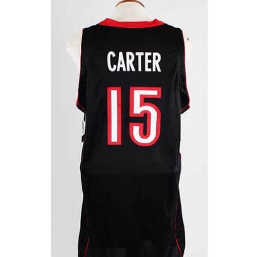 2000-01 Vince Carter Game-Worn Toronto Raptors Jersey COA 100% Authetic  Team  9ba9f59f1