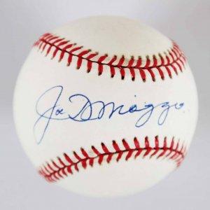 Joe DiMaggio Signed New York Yankees Baseball - JSA Full LOA