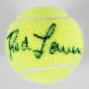 Rod Laver Signed Tennis Ball - JSA