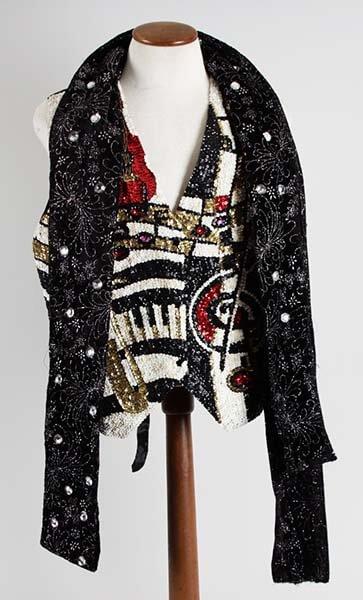 Liberace Stage-Worn Vest & Scarf